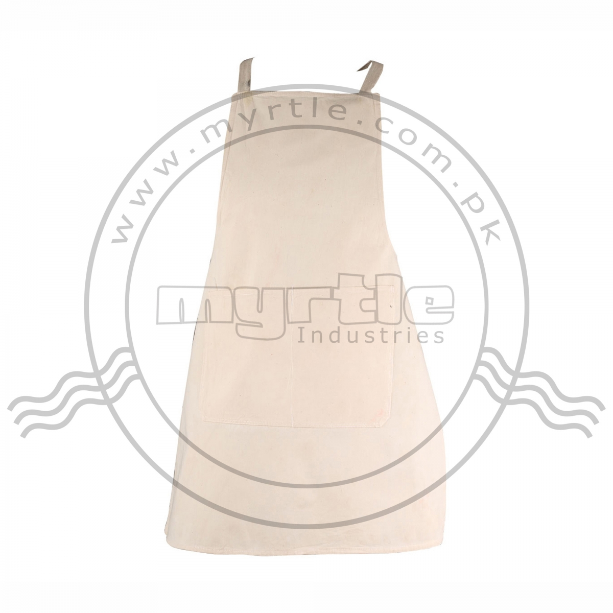 CANVAS APRON WITH BIB
