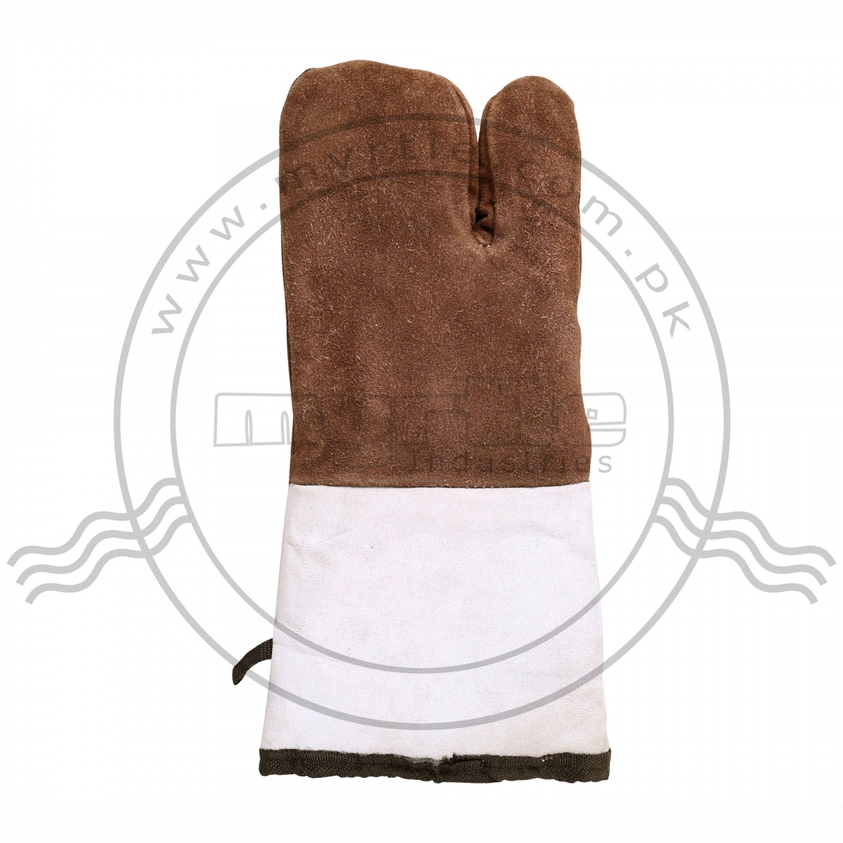 THREE FINGER LEATHER MITTENS