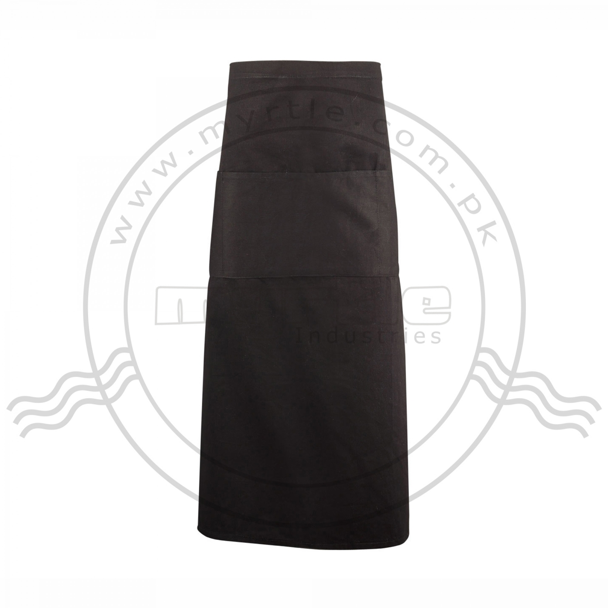 BISTRO APRON WITH THREE POCKET